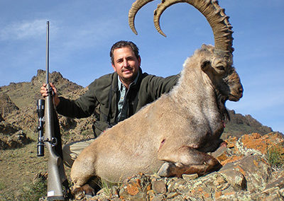 Asia hunting trip, Ibex