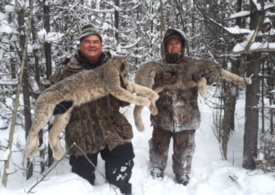 America, caza en España