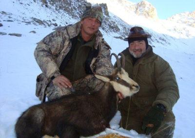 Asia, caza en España