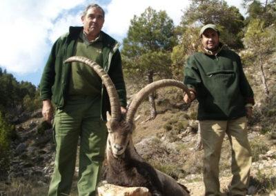 Beceite, caza en España