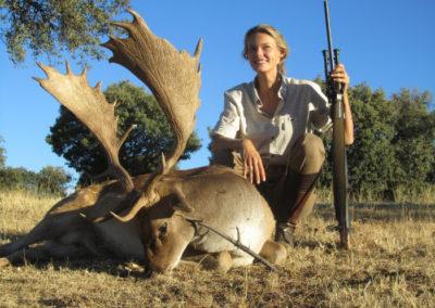 Gamos, caza en España